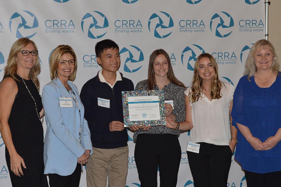 Senior Interns Receive Crra Education Award